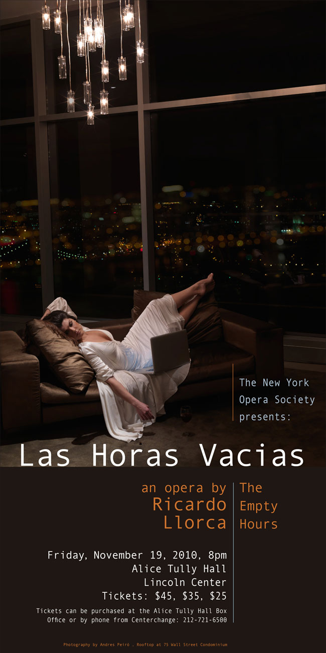 """The Empty Hours"" at Lincoln Center ( NY )"